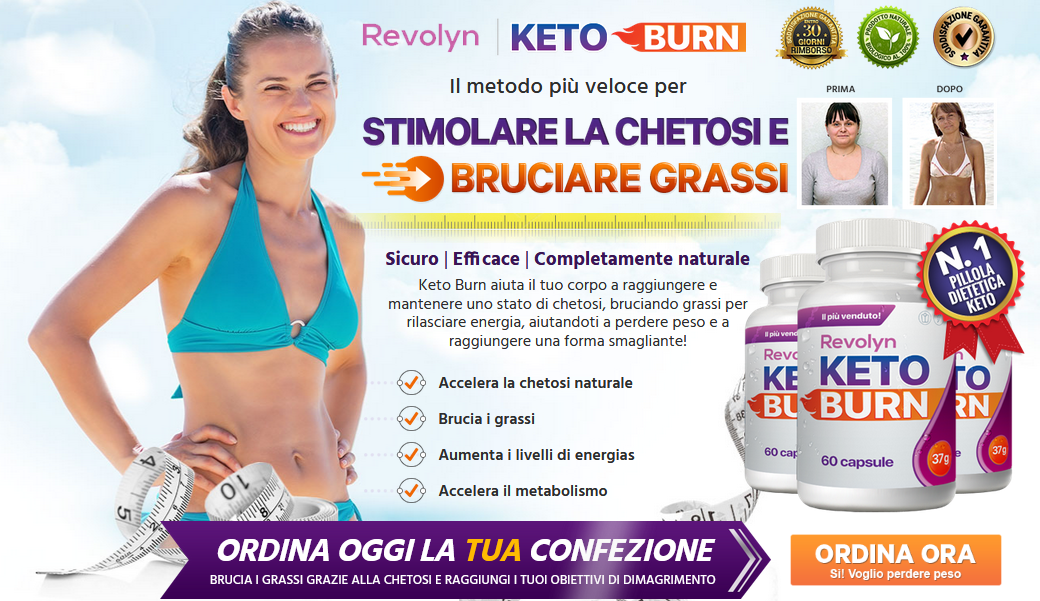Revolyn Keto Burn Acquistare