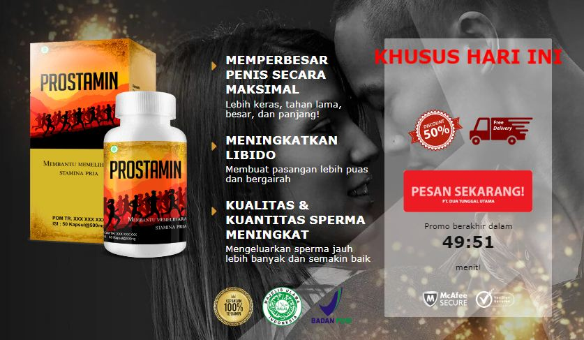Prostamin harga