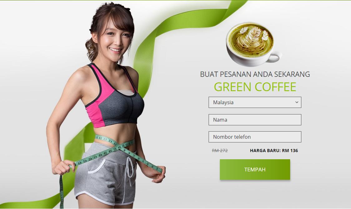 Green Coffee grains MY