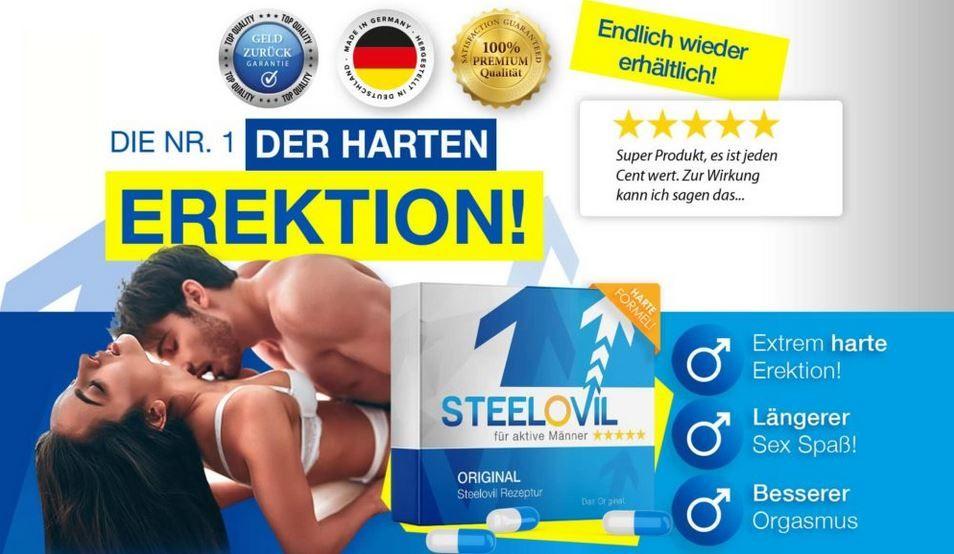 Steelovil Bewertungen – Pillen für Ausdauer & Libido! Preis, Erfahrungen